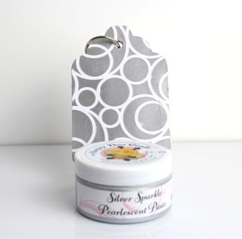 Pearlescent Paste - Silver Sparkle  100ml  Jar