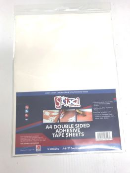 Stix2 Double Sided Adhesive Sheets A4