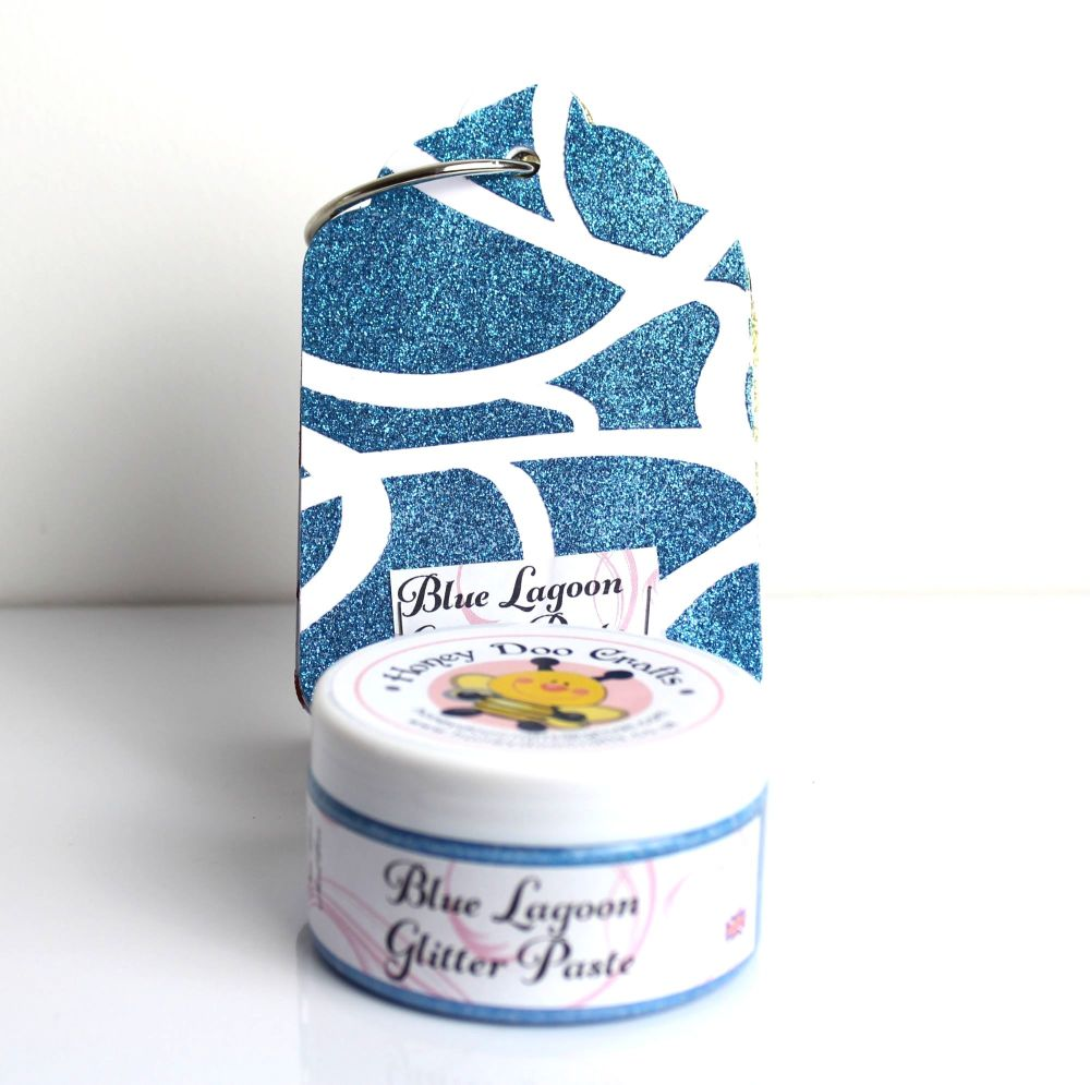 Glitter Paste - Blue Lagoon  100ml Jar