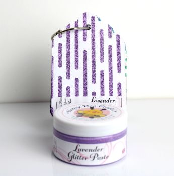 Glitter Paste - Lavender  100ml Jar