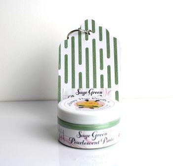 Pearlescent Paste - Sage Green  100ml  Jar