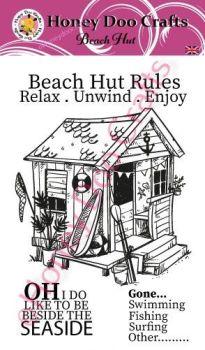 Beach Hut (A6 Stamp)