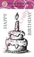 Birthday Cake (A6 Stamp)