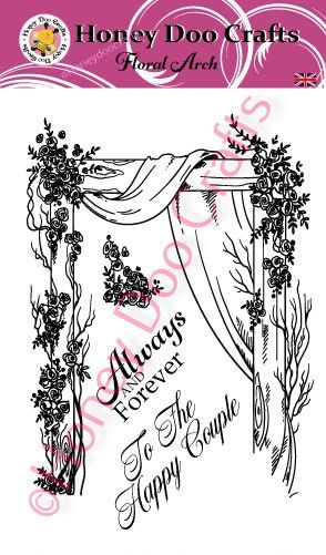 Floral Arch (A6 Stamp)