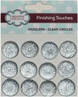 Gems Clear/Silver 18mm