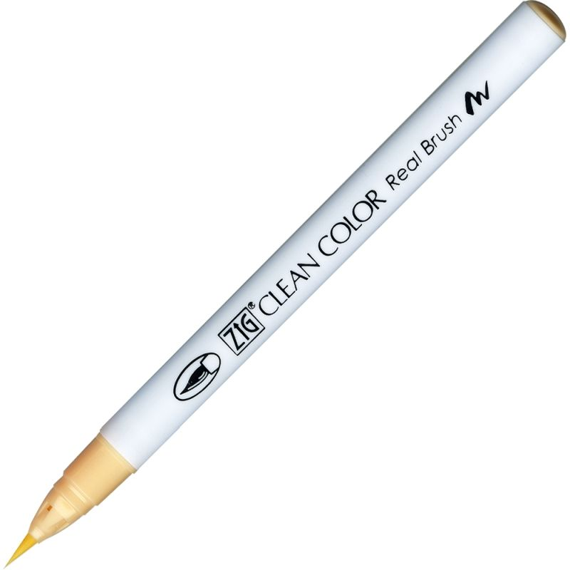 Kuretake Zig Clean Colour Pen With Real Brush Nib - Natural Beige 071