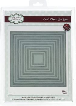 Creative Expressions Noble Double Pierced Squares Craft Dies