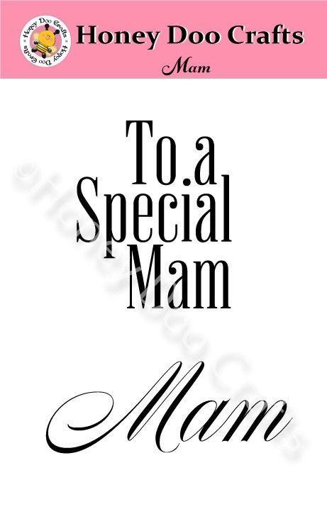Mam  (A7 Stamp)