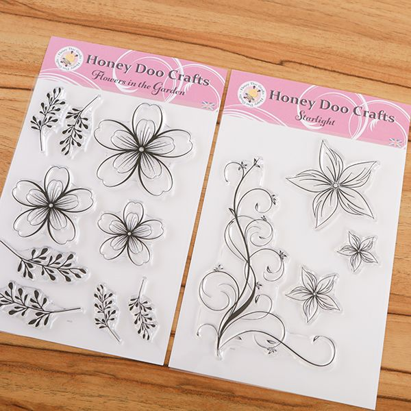 Starlight Flowers Stamp Collection