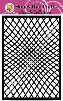 Honey Doo Crafts Stencils - Illusion    (A5 Stencil)