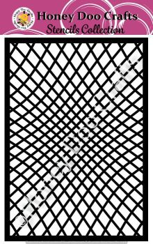 Honey Doo Crafts Stencil - Illusion  (A5 Stencil)