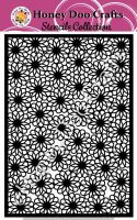 Honey Doo Crafts Stencils - Flower Power    (A5 Stencil)