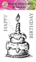 Birthday Cake (A6 Stamp)