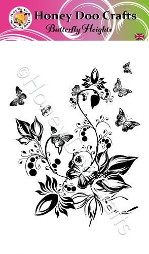 Butterfly Heights (A6 Stamp)