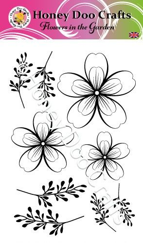 Flowers in the Garden (A6 Stamp)