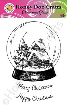 Christmas Globe  (A6 Stamp)