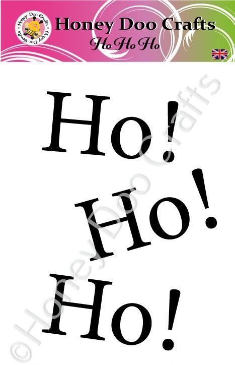Ho Ho Ho  (A7 Stamp)