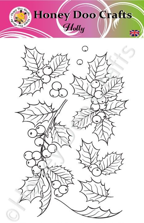 Holly  (A6 Stamp)