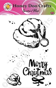 Santa's Hat  (A6 Stamp)