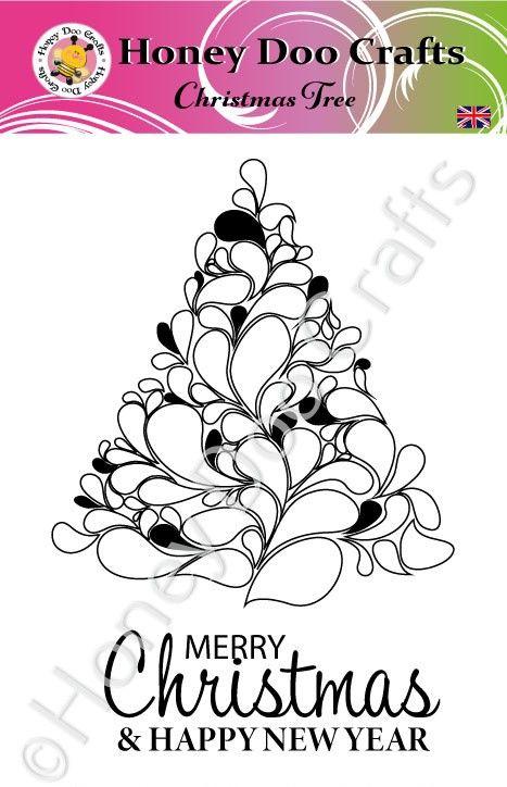 Christmas Tree  (A6 Stamp)