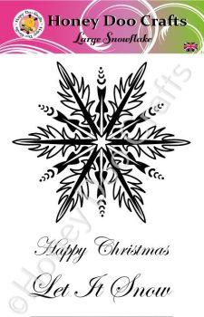 Large Snowflake  (A6 Stamp)