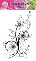 Floral Burst  (A6 Stamp)