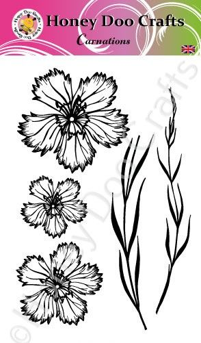 Carnations    (A6 Stamp)