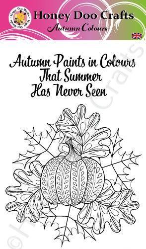 Autumn Colours  (A6 Stamp)
