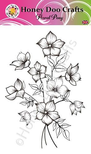 Floral Posy      (A6 Stamp)