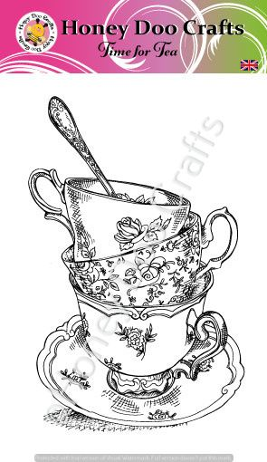 Time for Tea   (A6 Stamp)