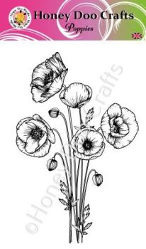 Poppies   (A6 Stamp)