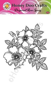 Dogwood Rose Spray   (A6 Stamp)