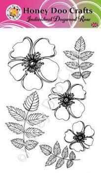 Individual Dogwood Roses    (A6 Stamp)