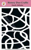 Honey Doo Crafts Stencils - Mosaic   (A5 Stencil)