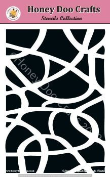 Honey Doo Crafts Stencils - Mosaic   (A5 Stencil)