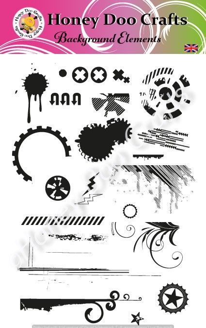 Background Elements   (A5 Stamp)