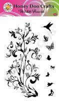 Wildlife Flourish  (A6 Stamp)