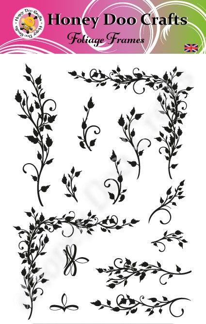 Foliage Frames   (A5 Stamp)