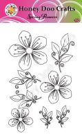 Spring Flowers   (A6 Stamp)