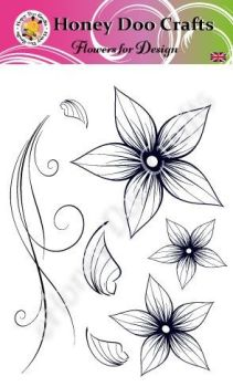 Flowers for Design    (A6 Stamp)