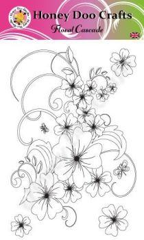 Floral Cascade   (A6 Stamp)
