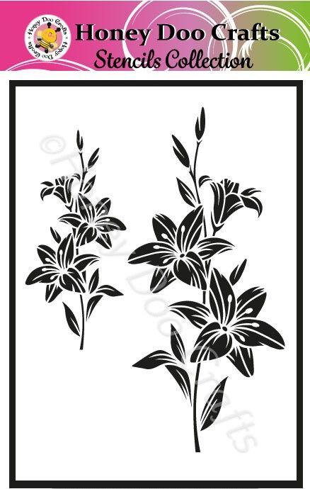 Lily    (A5 Stencil)