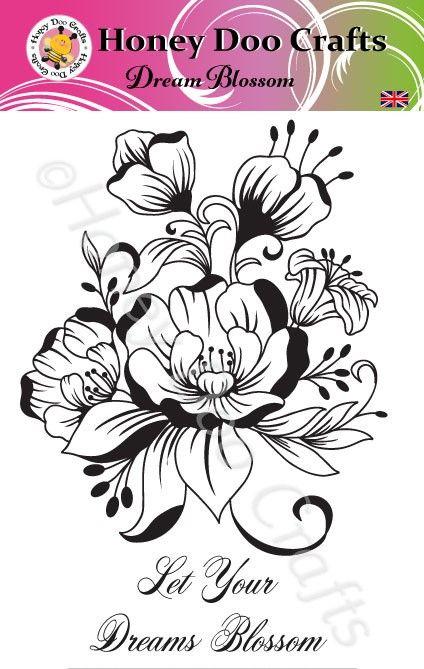 Dream Blossom  (A5 Stamp)