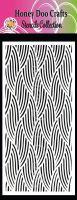Knitted Blanket  (DL Stencil)