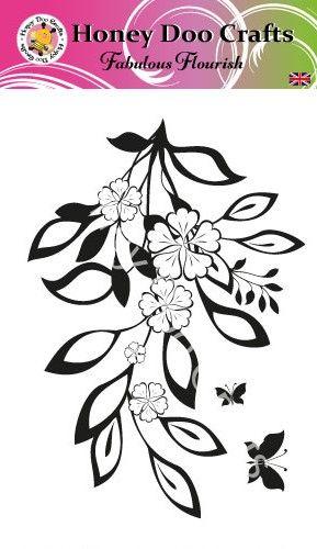 Fabulous Flourish  (A6 Stamp)