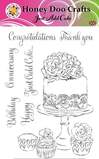 Just Add Cake  (A5 Stamp)