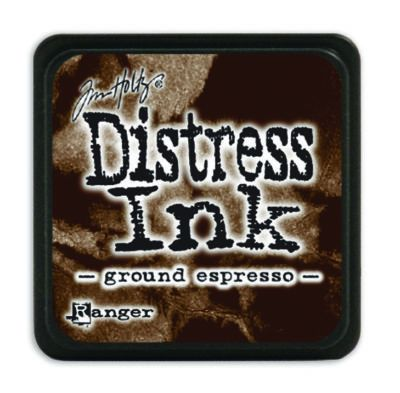 Mini Distress Ink Pad - Ground Expresso