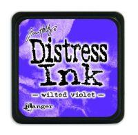 Mini Distress Ink Pad - Wilted Violet