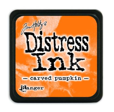 Mini Distress Ink Pad - Carved Pumpkin
