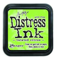 Mini Distress Ink Pad - Twisted Citron